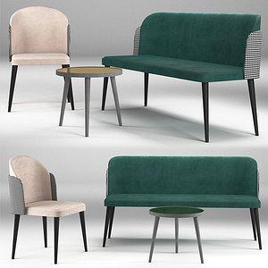 Sofa Chair table 3D