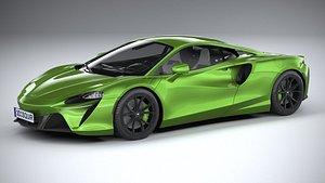 McLaren Artura 2022 LowPoly model