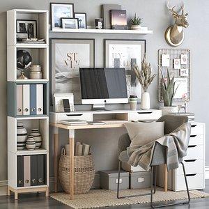 IKEA office workplace 69 3D