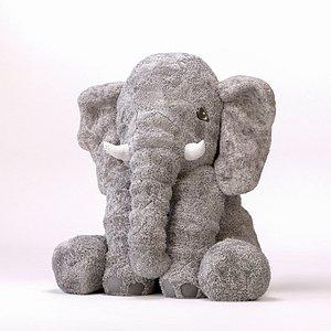 3D toy elephant ikea