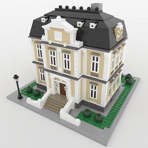 Lego Mini Mansion 3D