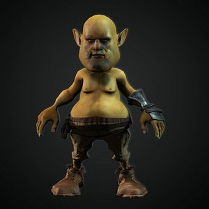 Orc Toon 3D