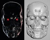 Terminator 2 T-800 Endoskull