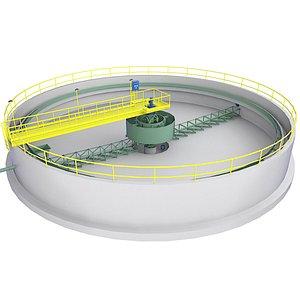 3D Circular Treatment Plant Simulators Low 4
