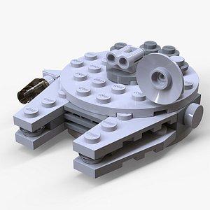3D Lego Millennium Falcon