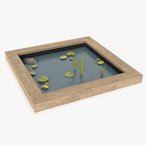 Pond 2 3D model