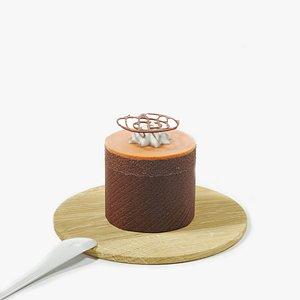 3D model Dessert - Twisted Pleasure