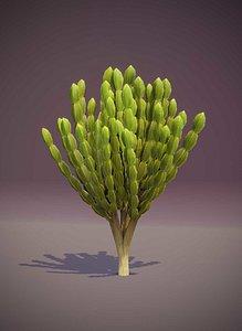 Cartoon Candelabra Tree 3D model