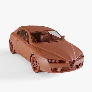 brera alfa romeo 3D model