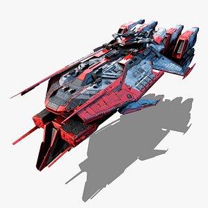 3D NEXTGEN - Moskva - Battlecruiser Class V model