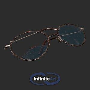 Glasses are broken 3D