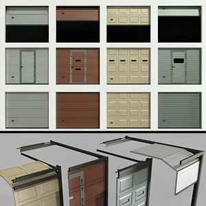 3D gates garage warehouse