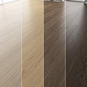 Wood Floor Set 15 3D model