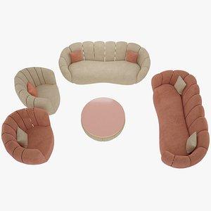 3D sofa furniture interior