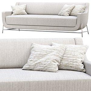 3D ski sofa hbf model