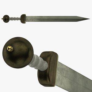 3D Gladius model