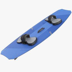 3D Kiteboard model