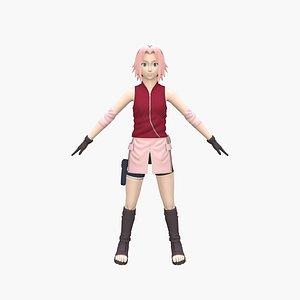 3D Sakura model