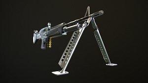 weapon firearm 3D