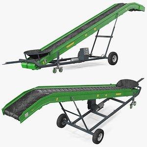 3D Agriculture Conveyor Belt System Dusty