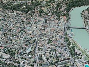 3D linz city