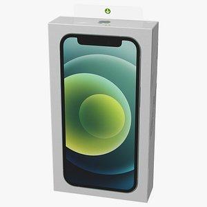 3D model iphone 12 mini box