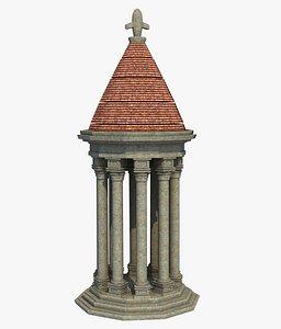 Mini Chapel Dome 3D model