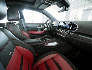 3D Interior Mercedes-AMG GLE 63 S Coupe 2021