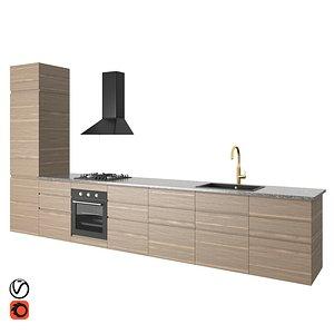 kitchen voxtorp 3D model