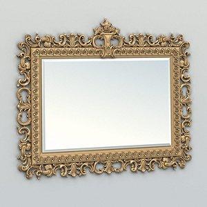cnc mirror frame 3D