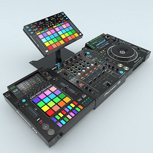 3D model Professional DJ Pioneer Collection