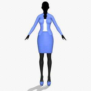 3D fashion clothing model