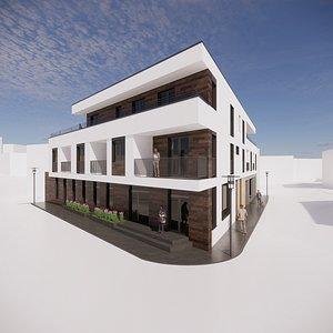 3D house multifunctional multi