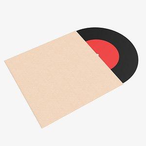 vinyl cover record 3D model