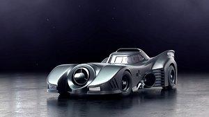 cars batman vehicles 3D model