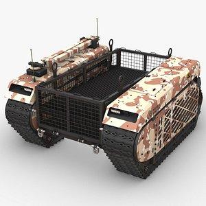 ugv vehicle 3D model
