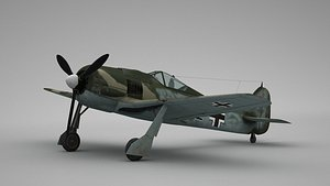 Focke Wulf FW 190 3D model