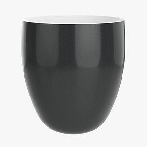 3D Coffee mug without handle 01 model