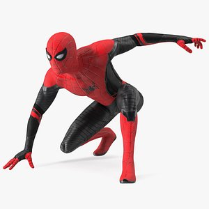 Spider Man Rigged 3D model