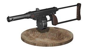 3D Homemade gun AVR2 model