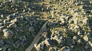 rocks nature blender 3D model