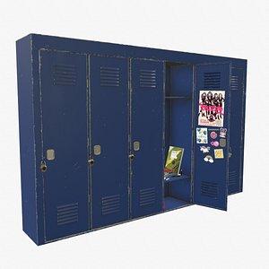 locker lock model