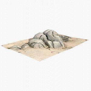 Rock 3D Scan 21 model