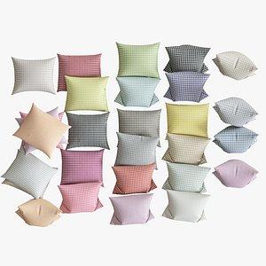 pillows 25 3d model