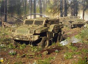 Armored Car Marauder 3D