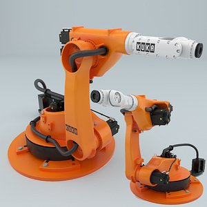 3D model robot kr 30-4 ks
