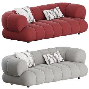 3D Intermede Sofa 2 Seater by Roche Bobois