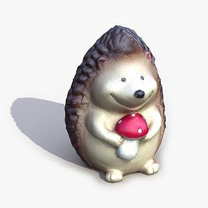 Garden Hedgehog 3D Model model