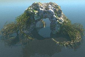 Rock Bridge model