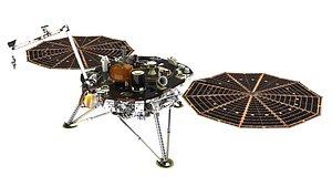 3D Insight lander